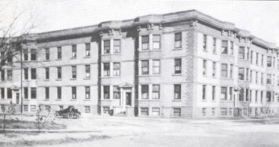 Pioneer Apartments in the early 1900s