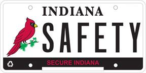 Indiana Specialty Plate