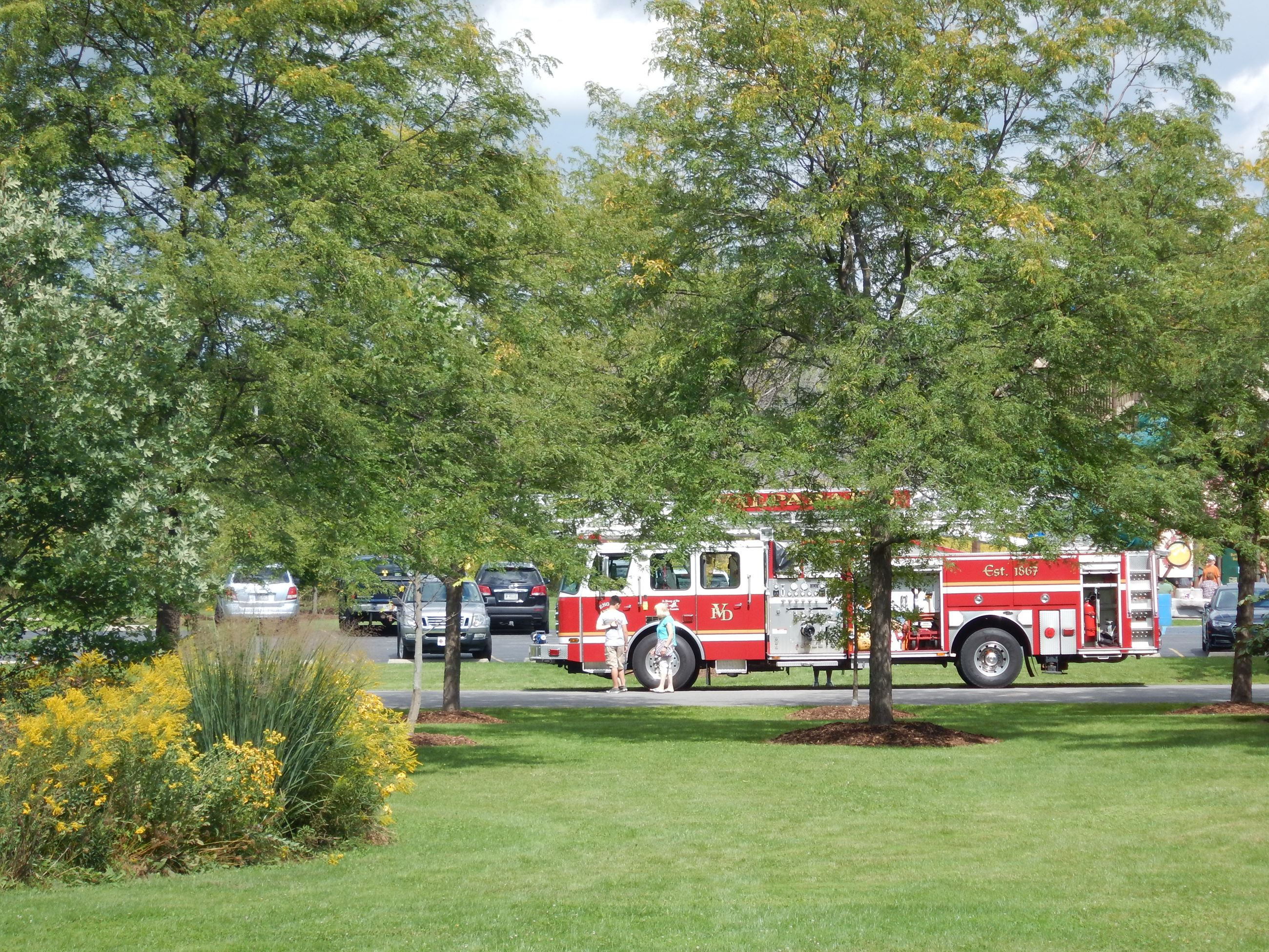 Annual Picnic with the Firemen - 2016