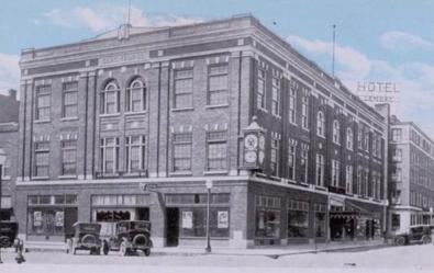 Harvey's Department store in the 1920s