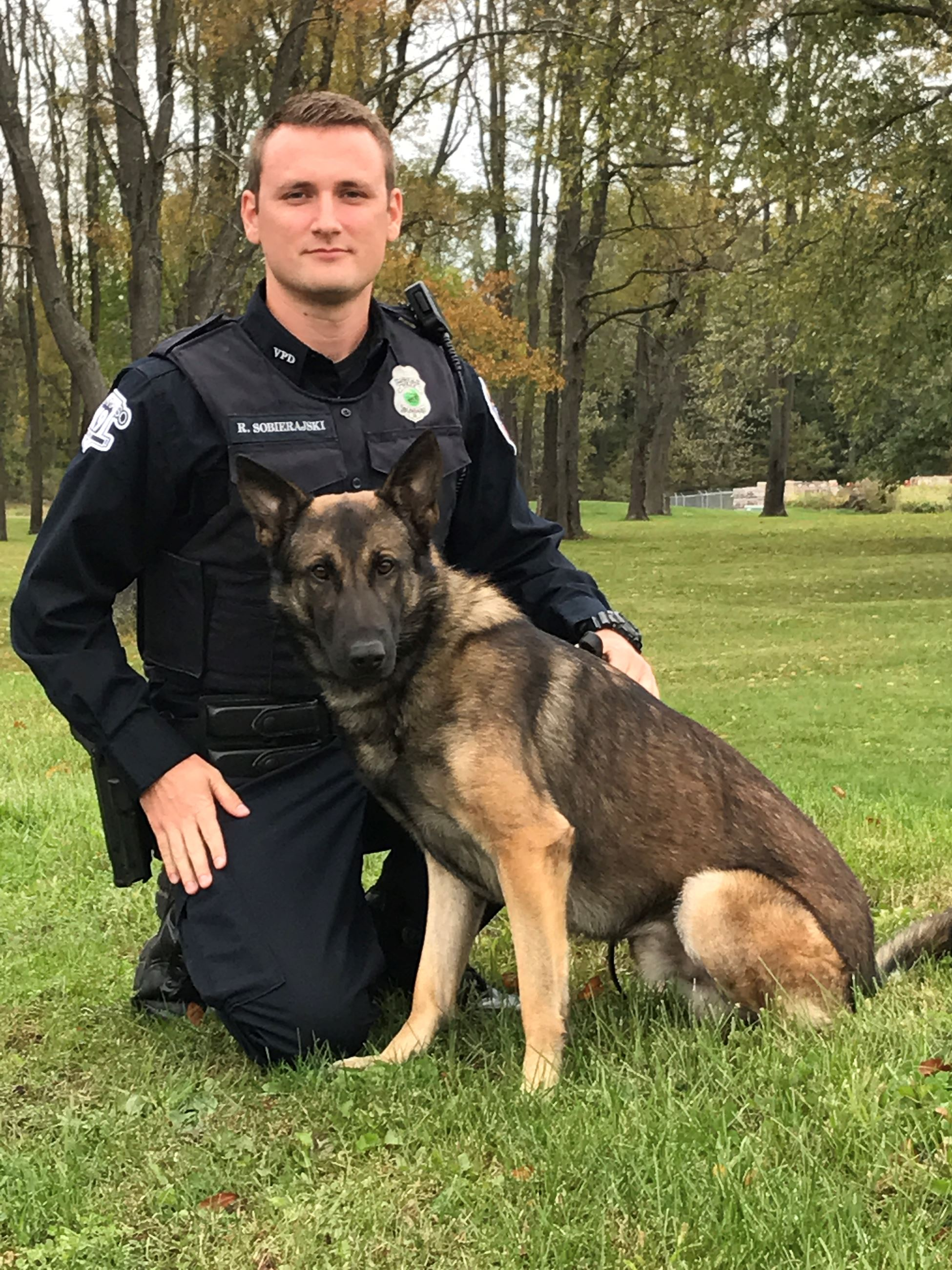 Officer Sobierajski and Vega