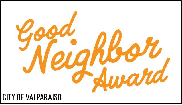 Good Neighbor Award Logo Text Only w_Box - Orange