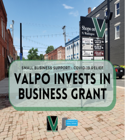 Valpo Supports Businesses with Grant Program