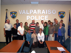 group photo citizen's police academy